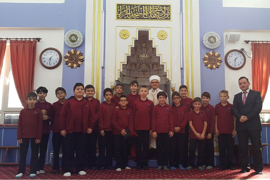 Saray Eğitim Kurumları  Öğrencilerinden Cami Ziyareti